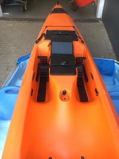 NEW Trident Fishing Kayak controls