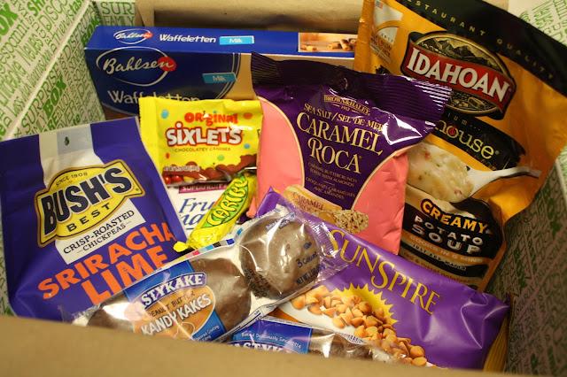 Full of treats October Degusta Box!