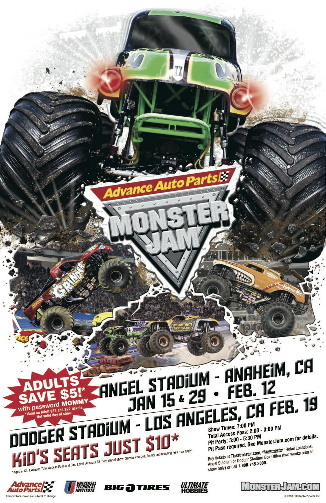 products that rock missed the action in anaheim for monster jam. Black Bedroom Furniture Sets. Home Design Ideas