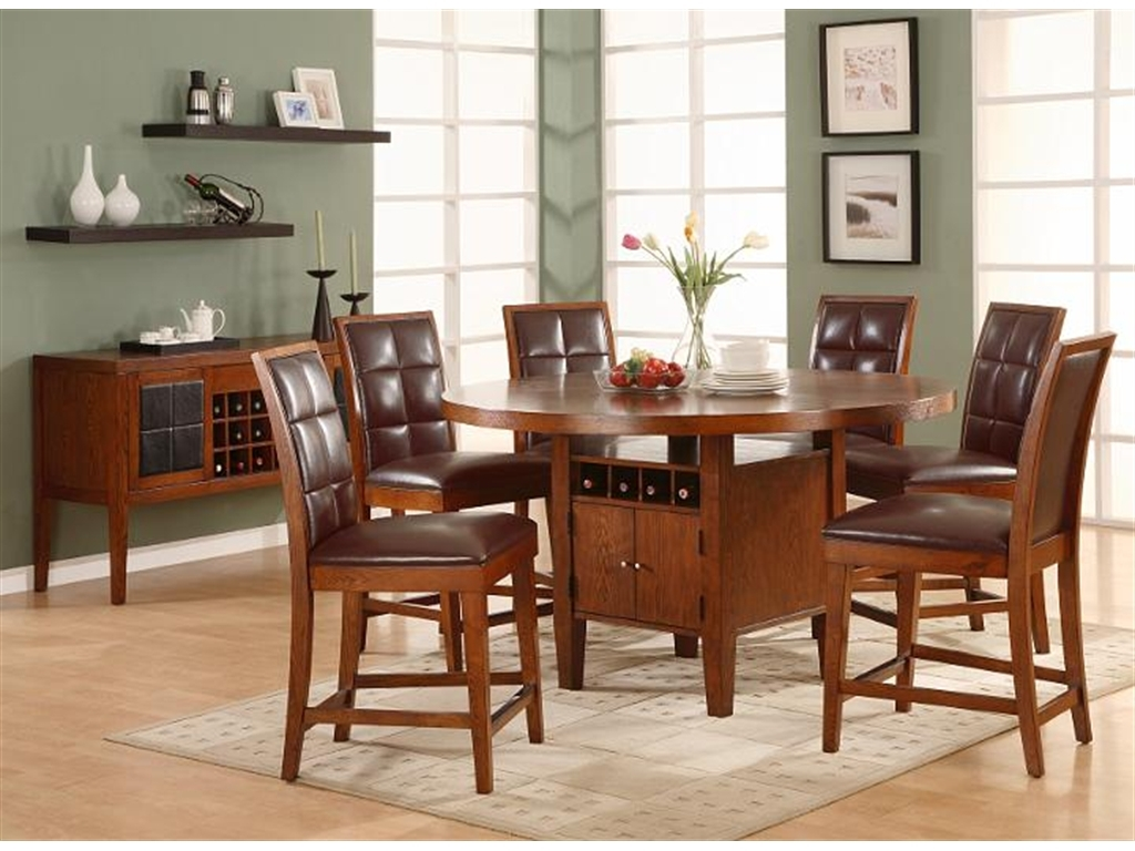 Awesome Dining Table With Wine Storage Chila