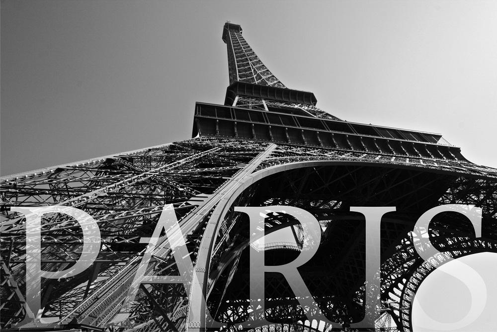 Jual Wall Sticker Eiffel - Stiker Dinding Murah