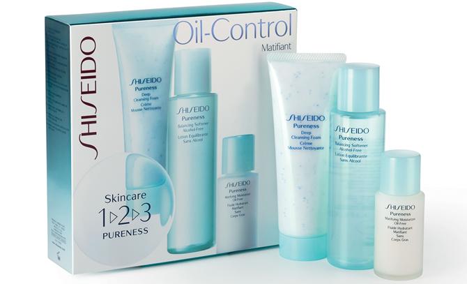 Kit Pureness 1-2-3 - Shiseido