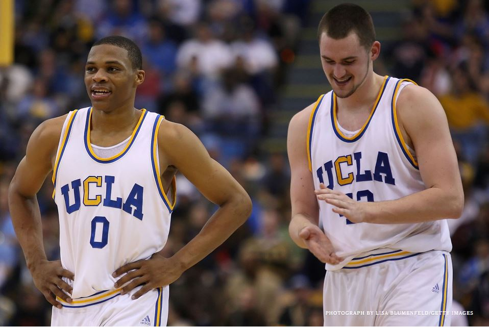 "Mostly UCLA Hoops: ""Bruin Walk"" by Kevin Love"