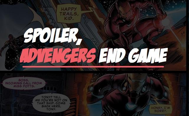 7 Spoiler Advengers: End Game yang akan datang!