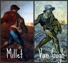 El sembrador, Millet, Van Gogh