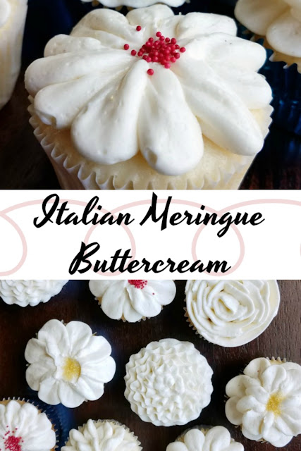 Fluffy, buttery, creamy, sumptuous Italian meringue buttercream is perfect for piping and deliciously decadent for eating too!