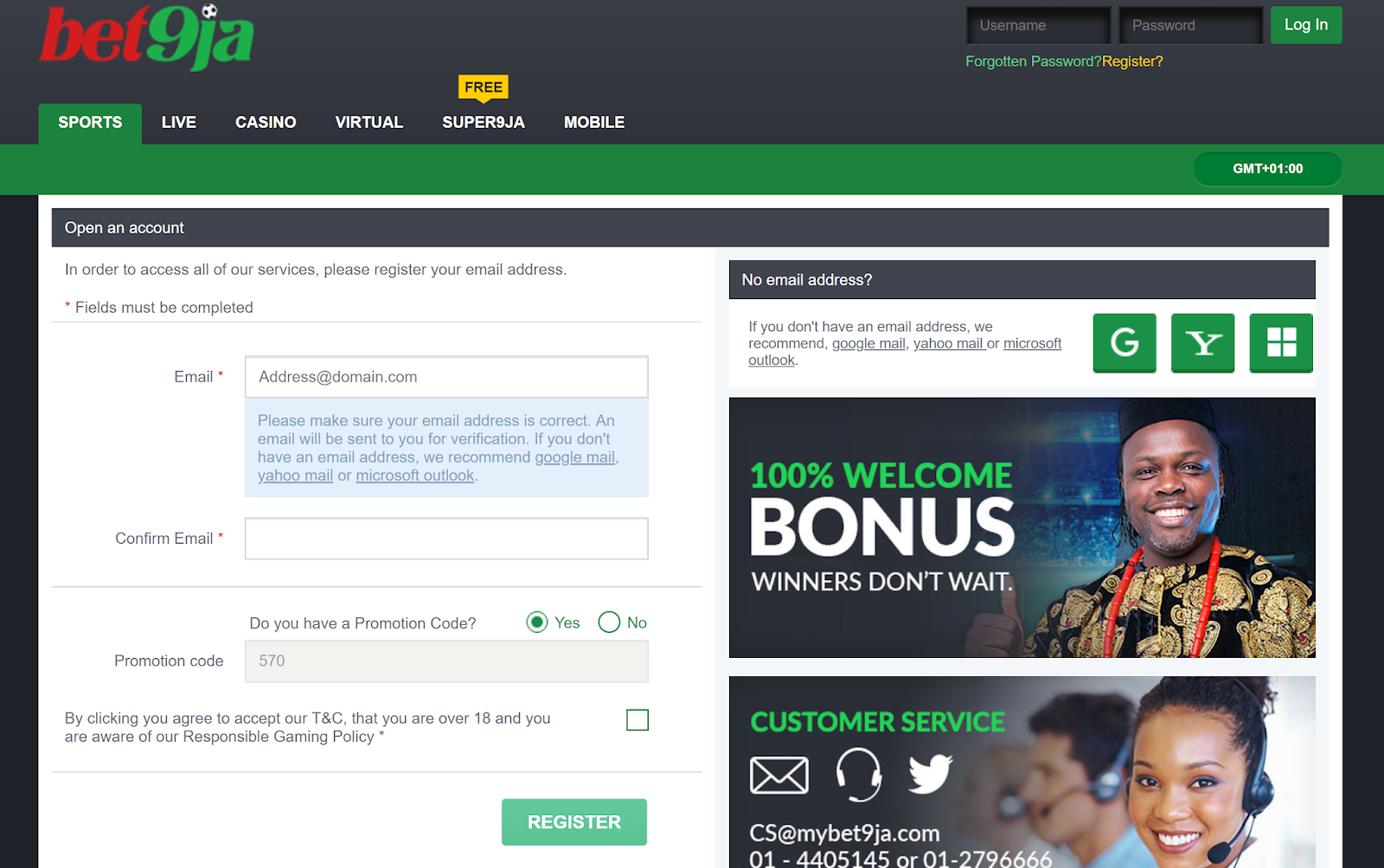 Check Bet9ja Mobile Booking Number