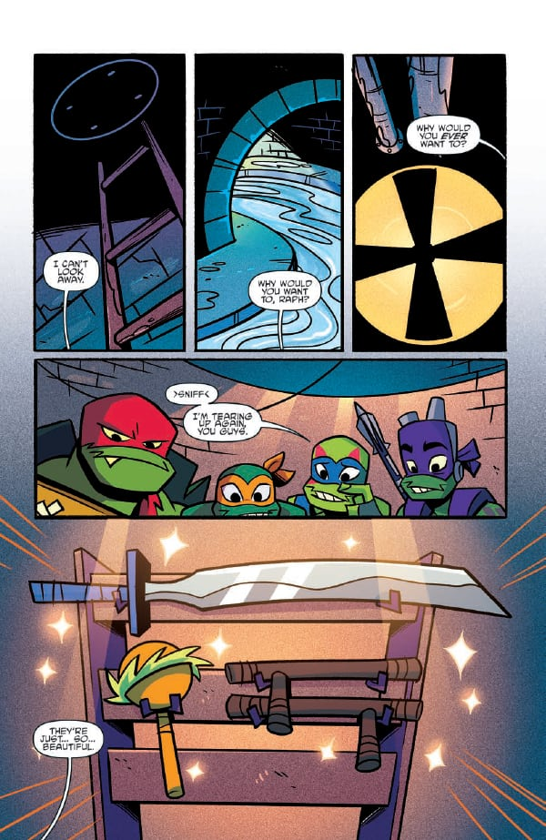 NickALive!: Preview of IDW's 'Rise of Teenage Mutant Ninja