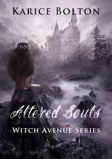 Cover Reveal: Altered Souls (The 2nd book in The Witch Avenue Series) by Karice Bolton