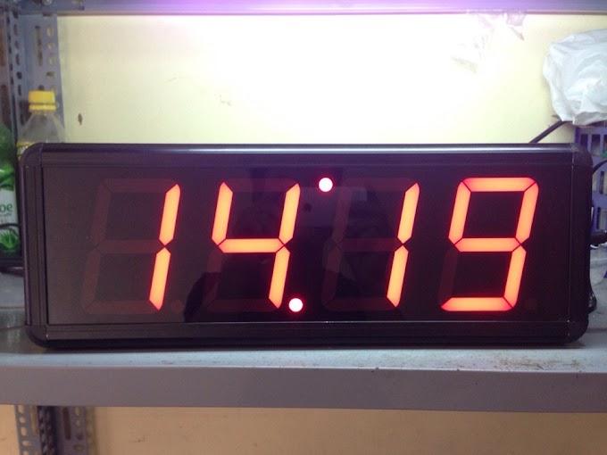 Đồng hồ treo tường led 4 số