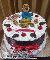 Kue Tart Blackforest Cake tama wayang