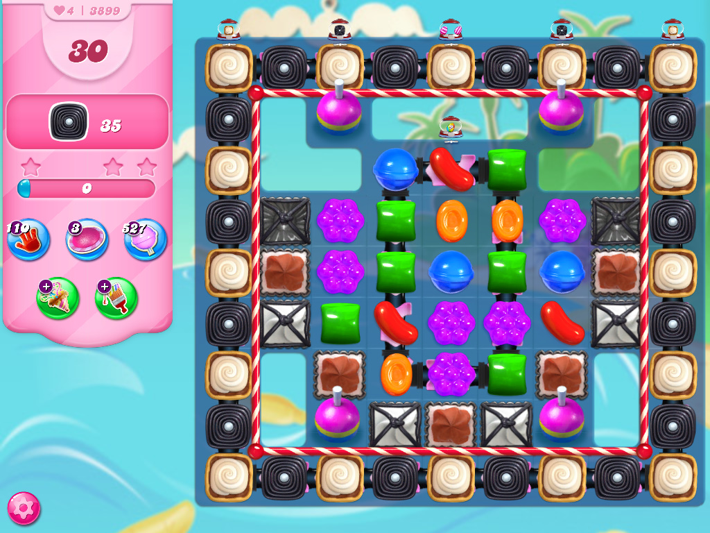 Candy Crush Saga level 3899