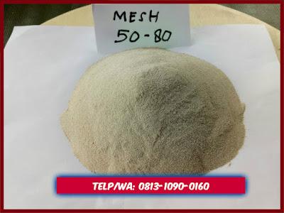 Pasir Silika Bangka Ukuran Mesh 50-80