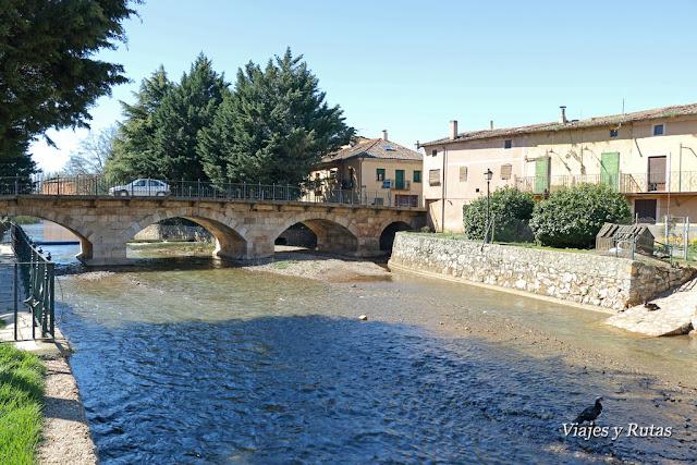 Puente románico de Ayllón, Segovia