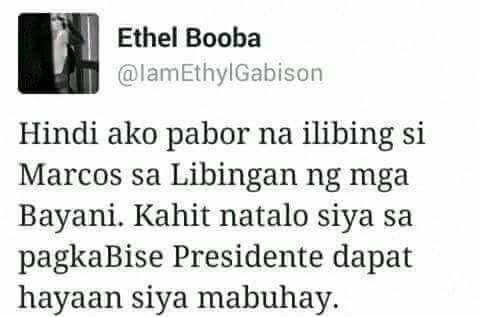 Ethel Booba Nailed the Perfect Comment About Marcos' Burial at Libingan ng Mga Bayani. MUST SEE!
