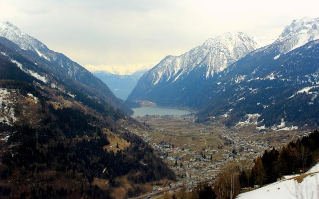 Glaciar Palü desde Alp Grüm
