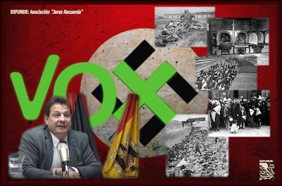 El pseudohistoriador homófobo y negacionista  Fernando Paz ha calificado de farsa los juicios de Núremberg a los jerarcas nazis, ha cuestionado el asesinato masivo de 6 millones de judíos, ha dejado claras sus sospechas de que los judíos no murieron en cámaras de gas y ha negado el origen racista del Holocausto.