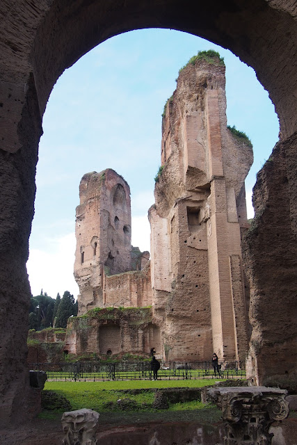 Title: Baths of Caracalla in Rome, Source: own resources, Authors: Agnieszka and Michał Komorowscy