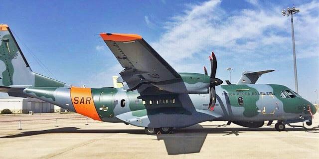 SAR: SC-105 Amazonas é entregue na Espanha