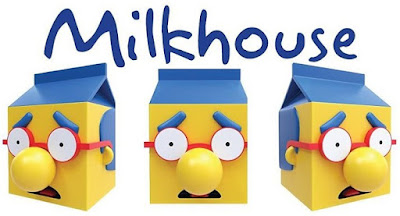The Simpsons Milkhouse Vinyl Figure by Tattoo Dave x Made by Cooper