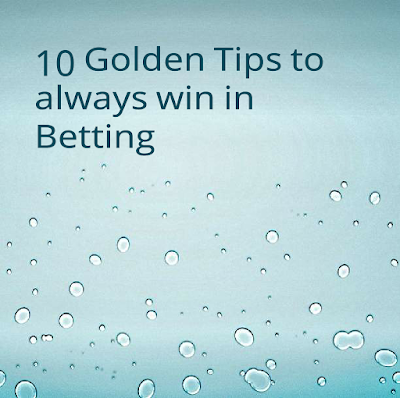 golden tips to always win in cricket betting