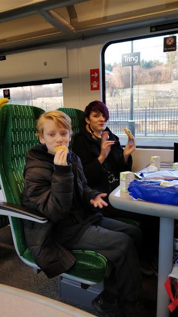 train picnic