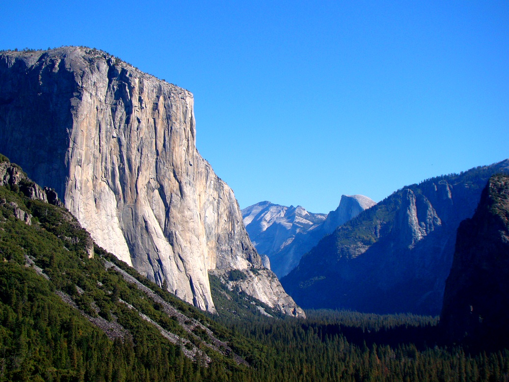 Geotripper: How it was Today: Fall in Yosemite Valley
