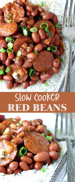 BEST SLOW COOKER RED BEANS AND RICE