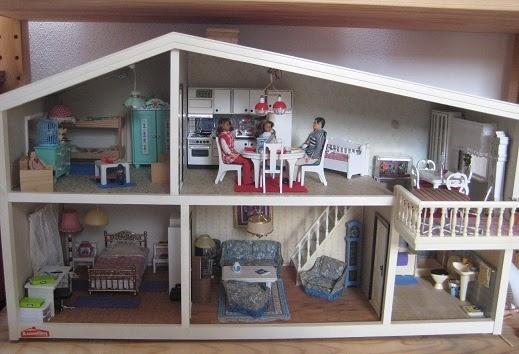 irmchensminiwelt das 80er jahre lundby g teburg haus. Black Bedroom Furniture Sets. Home Design Ideas