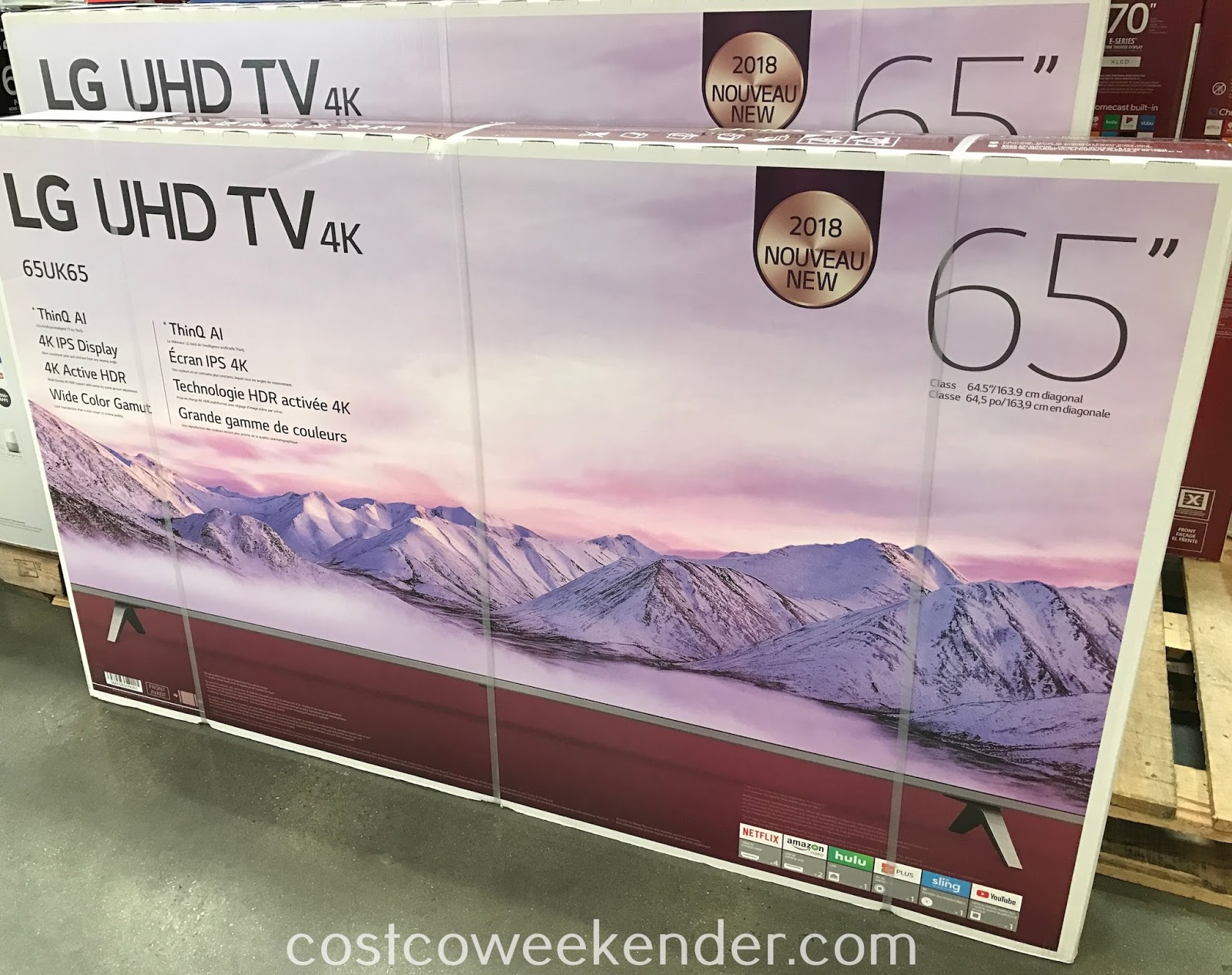 Costco 9650008 - LG 65UK6500AUA 65in 4K HDR Smart UHD TV: great for your home