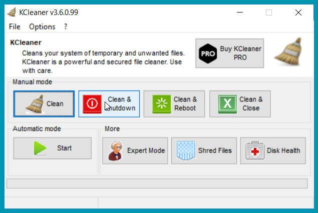 KCleaner :  Αποτελεσματική σκούπα για  άχρηστα αρχεία