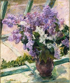 Hoa Tử Đinh Hương Bên Cửa Sổ - Mary Cassatt