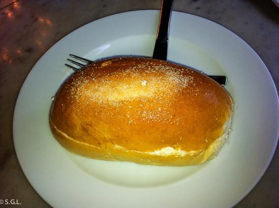 Bollo de mantequilla. Dulces tipicos de Bilbao
