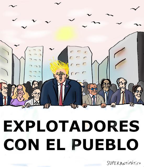 Explotadores con el pueblo