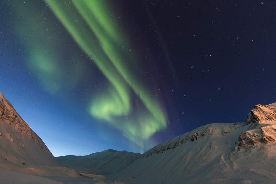 Aurore boréale Norvège