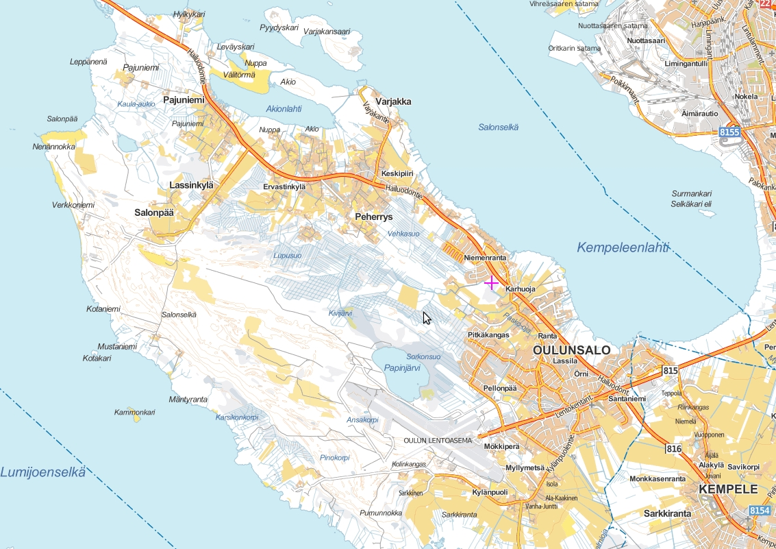 Kartta Kempele