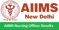 AIIMS Nursing Officer Results