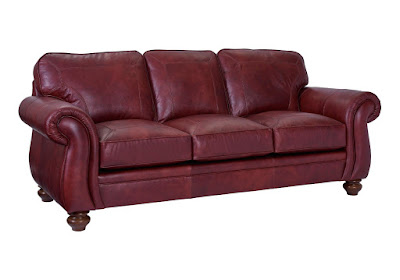 Leather Sleeper Sofa by Broyhill at Baer's