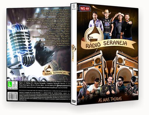CAPA DVD -RADIO SERTANEJA DVDR