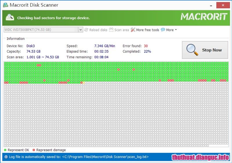 Download Macrorit Disk Scanner 4.3.1 Full Key – Phần mềm kiểm tra ổ cứng