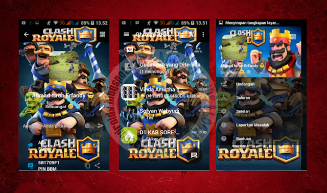 download BBM2 Mod Clone Tema Clash Royale Apk Version 2.13.1.14