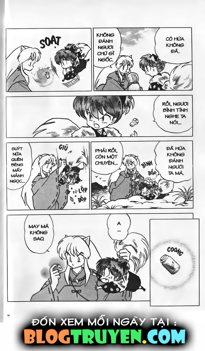 Inuyasha vol 04.1 trang 13