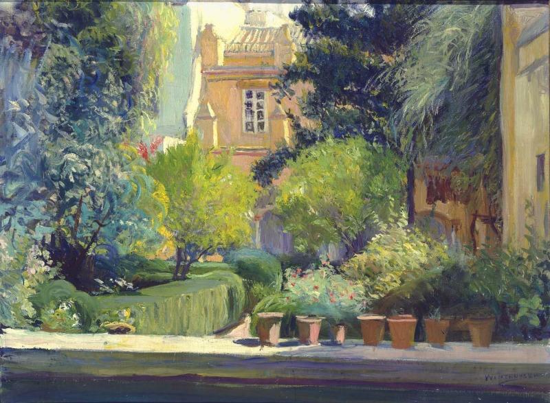 Jardín de Sevilla, Cepero, 1910 | Javier de Winthuysen y Losada