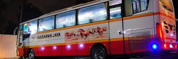 Harga Tiket Bus Harapan Jaya Terbaru sampai Agustus 2016