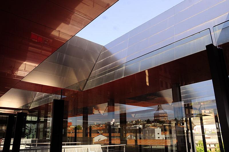 Terraza Del Edificio Nouvel Ampliación Del Reina Sofía Por