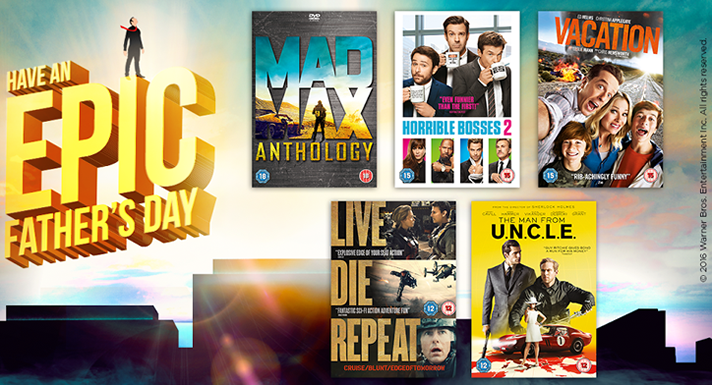 Win a Selection of DVDs