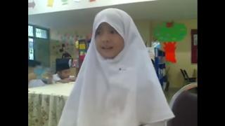 Suara Emas Siswi SD Bernama Atikah Saat Menyanyikan Lagu Takkan Berpaling Darimu