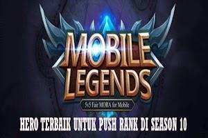 Hero Terbaik untuk Push Rank Mobile Legends Season 10