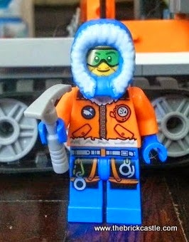 LEGO City Arctic Ice Crawler 60033 Review minifigure scientist explorer