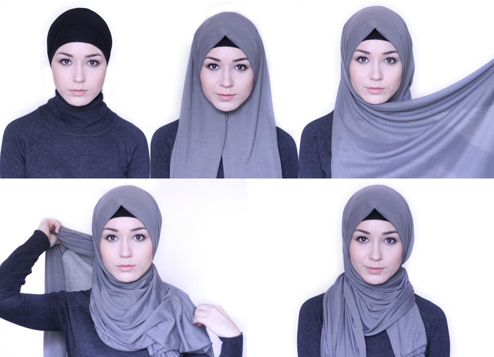 Tutorial Hijab Simpel Yang Mudah Dipakai Oleh Pemula Tutorial Hijab